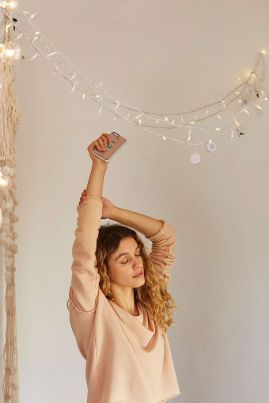 Urban Outfitters Bluetooth Speaker String Lights