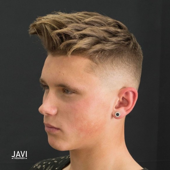 Thick Spikes + High Fade
