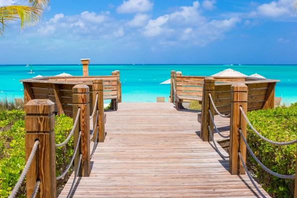 Plaža Grace Bay, Otoki Turks in Caicos