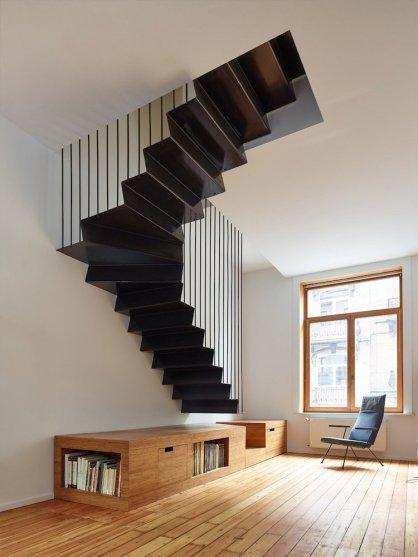 Nenavadno zavito stopnišče