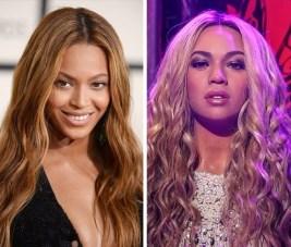 Beyonce v Madame Tussauds v Istanbulu