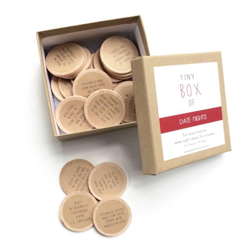 Škatla z idejami za zmenek (17 evrov)