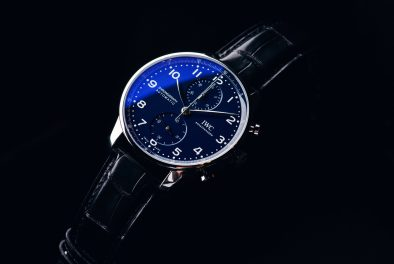 "IWC Portugieser Chronograph ""150 Years"" Chronograph Blue Dial"