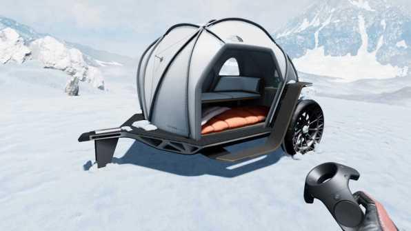 BMW North Face Futurelight Camper Concept