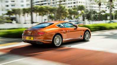 Bentley Continetal GT V8
