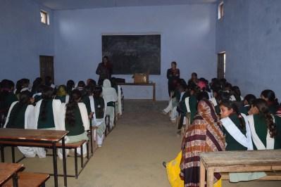 MH workshop Distributed pads In Bhatipura Villages Schools ,Meerut District ,Uttar Pradesh 1 - Copy