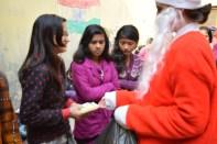 Sanitary Pad distribution to Girls 3