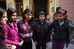 Soap distribution in Lord shiva School 2