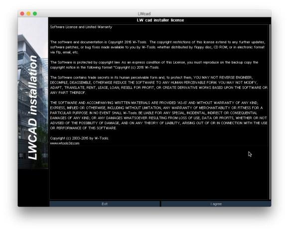LWCAD InstallerScreenSnapz001