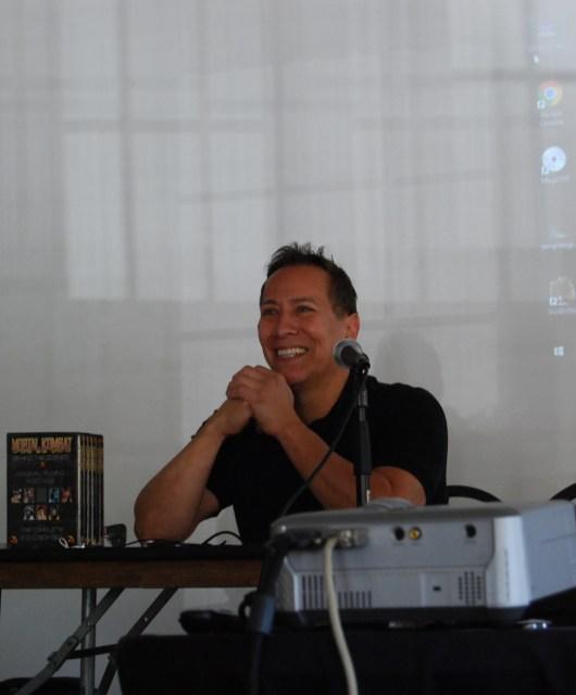Master Daniel Pesina of Mortal Kombat aka Johnny Cage