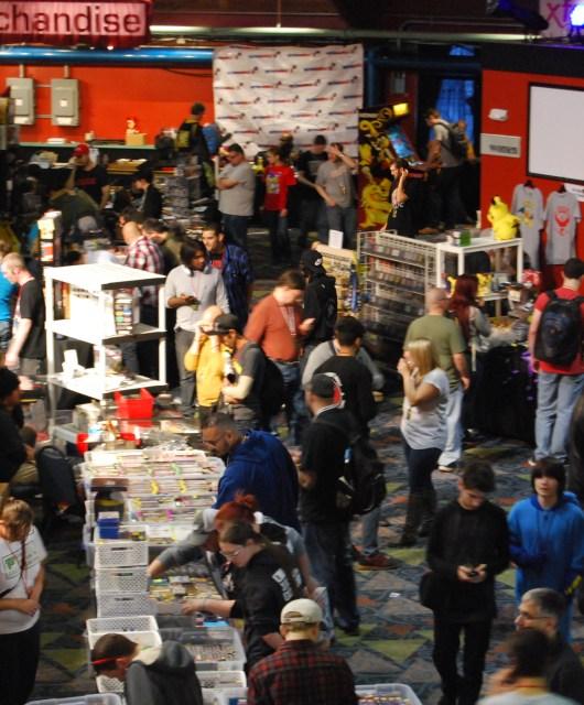 Retroworld expo trade floor 1