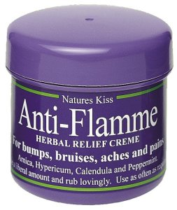 Anti flamme cream pot