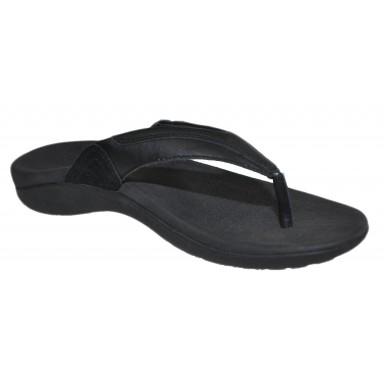 Axign Heel Pain Jandal 90 Mile Black