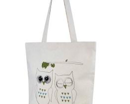 owl shopper bag