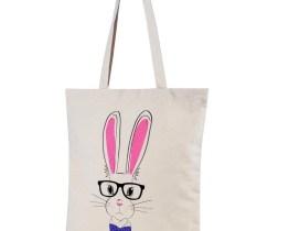 rabbit shopper bag