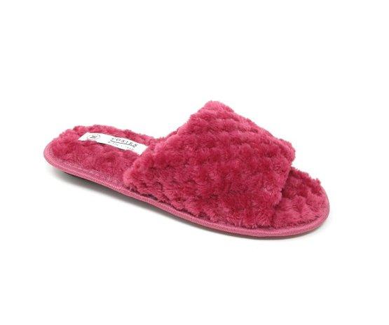 Ladies Open Toe Mule Slippers, Peep Toe
