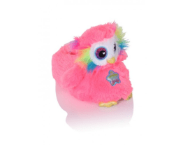 pink owl slippers