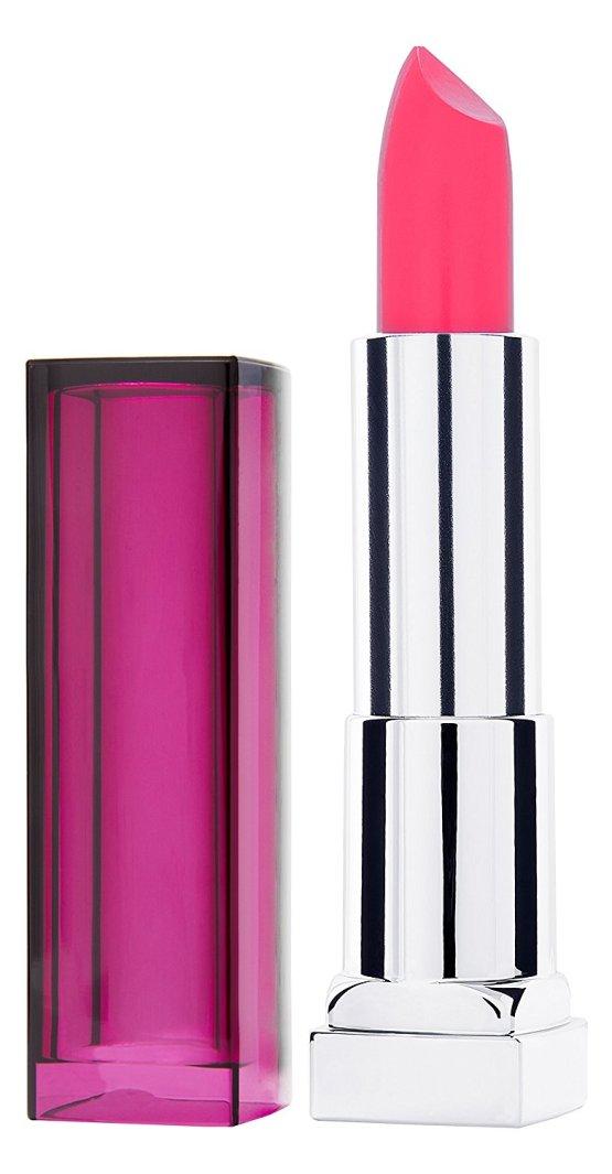maybelline color sensational lipstick pink punch