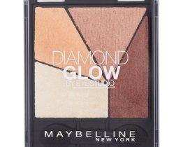 Maybelline diamond glow quad eyeshadow coral drama