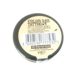 Maybelline Color Tattoo Eyeshadow Eternal Gold 05, Gold Eyeshadow