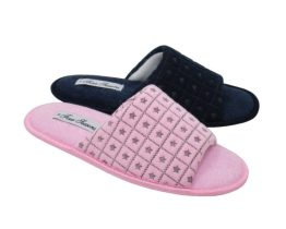 ladies open toe mule slippers