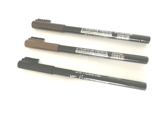 krazy girl waterproof eyebrow pencils with brush