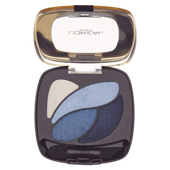 L'Oreal Color Riche Quad Eyeshadow Bleu Mariniere E8