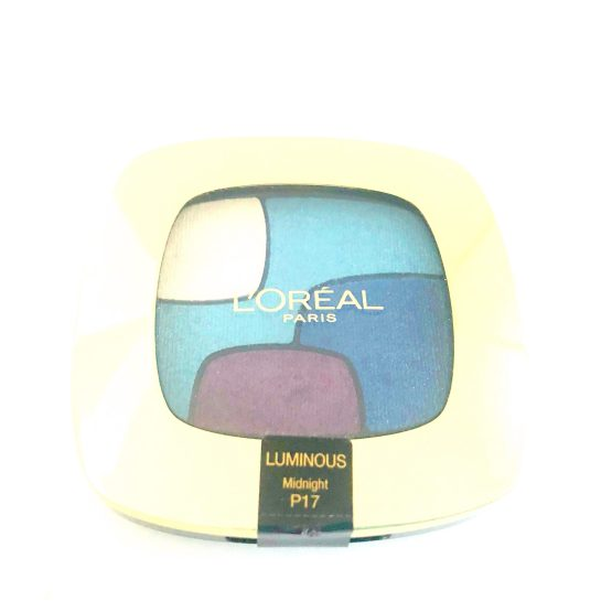 L'oreal Color Riche Quad Eyeshadow Midnight P17
