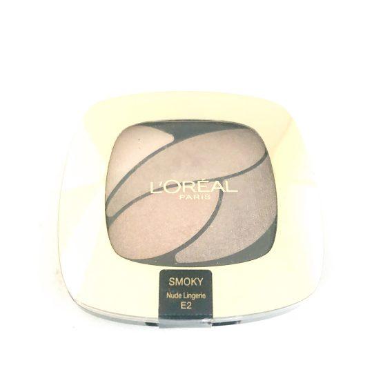 Loreal Color Riche Quad Eyeshadow Nude Lingerie E2