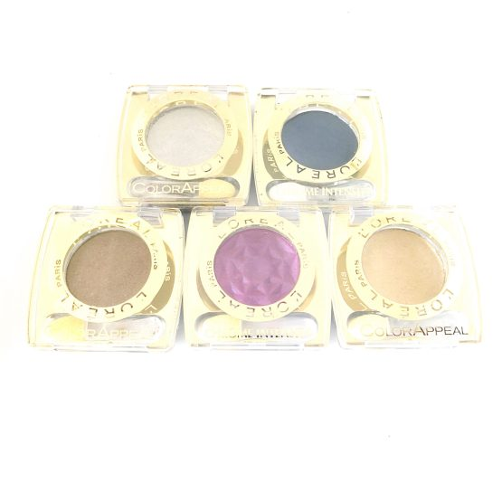 L'Oreal Color Appeal Mono Eyeshadows Chrome Intensity