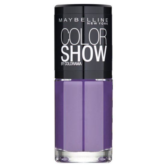 Maybelline Color Show Nail Polish Orchid Violet 429 Purple Nail Varnish