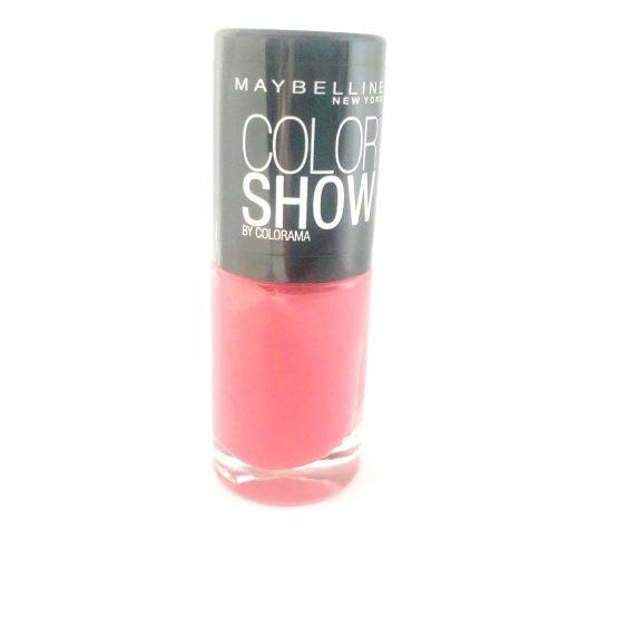 Maybelline Color Show Nail Polish Vivid Rose 428, Pink Nail Varnish