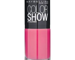 Maybelline Color Show Nail Polish Vivid Rose 428, Pink Nail Varnish