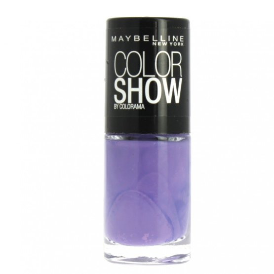 Maybelline Color Show Nail Polish Iced Queen 215, Purple Nail Varnish