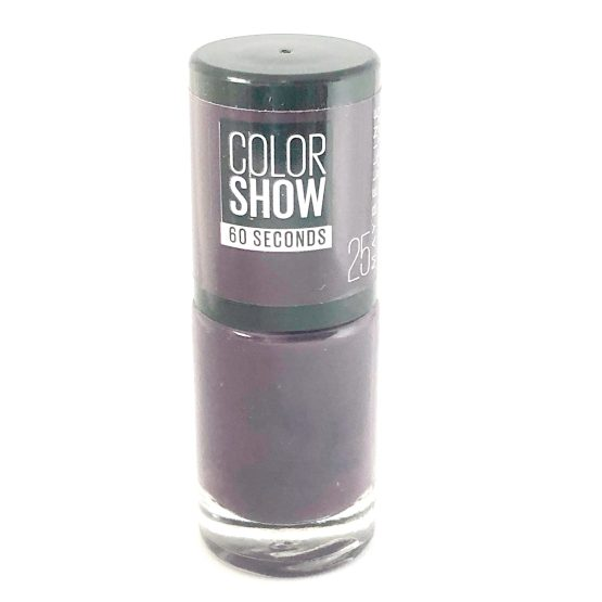 Maybelline Color Show Nail Polish Plum It Up 25, Purple Nail Varnish