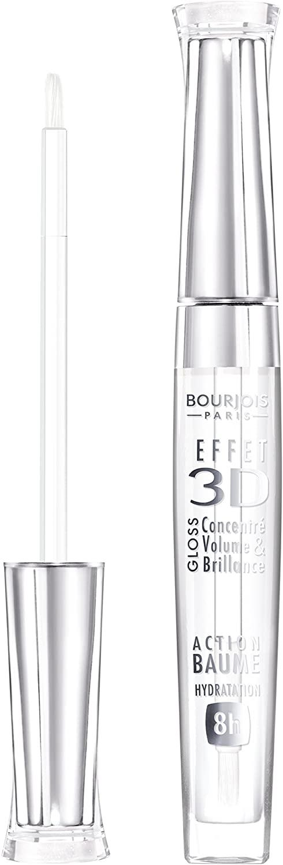 Bourjois 3D Effect Lipgloss Transparent Oniric 18, Clear Lipgloss