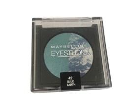 Maybelline Eyestudio Cosmos Eyeshadow Blue Earth 42, Blue Eyeshadow, Duo