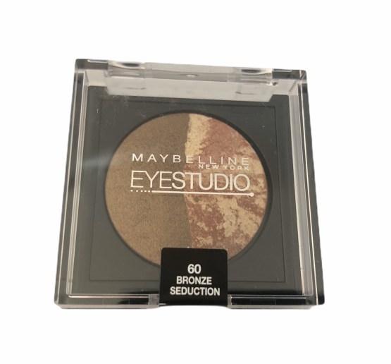 Maybelline Eyestudio Cosmos Eyeshadow Bronze Seduction 60, Brown Eyeshadow, Duo