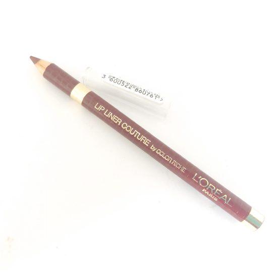 L'Oreal Color Riche Couture Lipliner Velvet Robe 300, Red Lipliner, Wine, cheap lip pencil