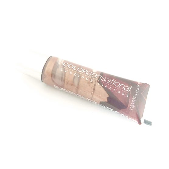 Maybelline ColorSensational Lipgloss Cocoa Fever 760, Brown Lipgloss, Flavoured Gloss