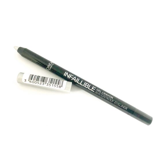 L'Oreal Infallible Gel Eyeliner Flash Silver 07, Silver Eyeliner, Waterproof