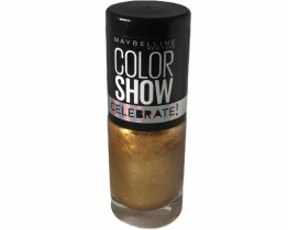 Maybelline Color Show Nail Polish Golden Sand 108, Gold Nail Varnish, 60 Seconds, Metallic