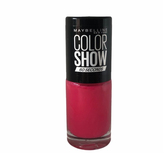 Maybelline Color Show Nail Polish Park Avenue Pink 333, Pink Nail Varnish, Hot Pink
