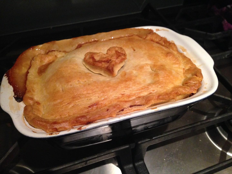 Mummy's Monday chicken pie