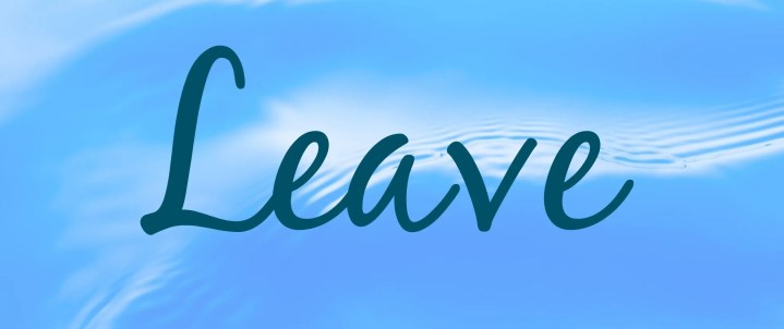 leave oblong