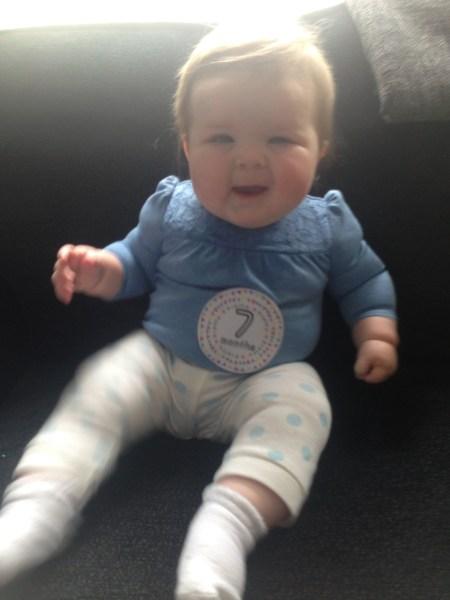 7 months olda