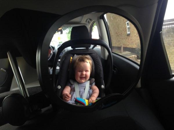 Snugglybabies Baby Rear View Car Mirror 4
