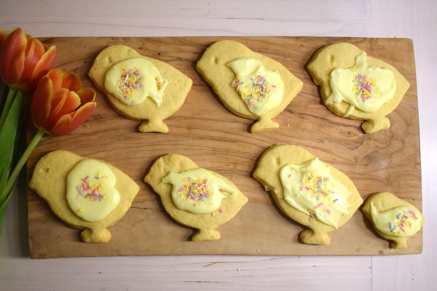 Dairy and soya free Easter biscuits