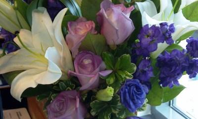 teleflora purple flowers