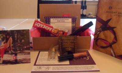 November Birchbox Contents